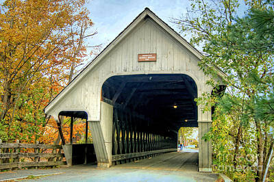 Photograph - Woodstock Middle Bridge by David Birchall
