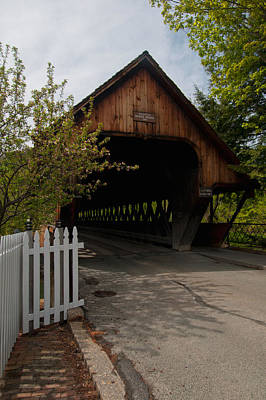 Photograph - Woodstock Middle Bridge by Paul Mangold