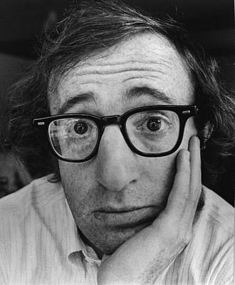 Photograph - Woody Allen by John Minihan