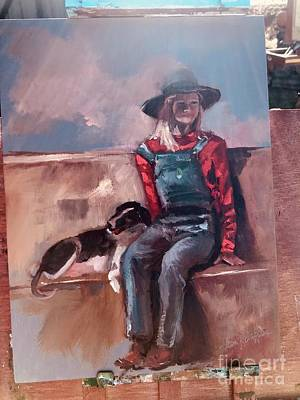 Painting - Work  In Progress by Jan Dappen