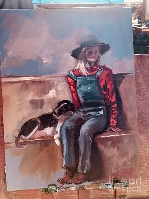 Painting - Work  In Progress by Jan Dappen
