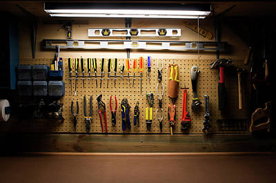 Photograph - Workbench Series by Busypix