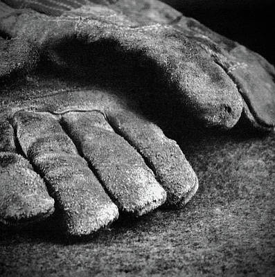 Photograph - Working Gloves by Rudy Umans