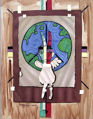 Painting - World Peace by Anthony Falbo