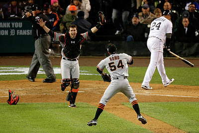 Photograph - World Series - San Francisco Giants V by Leon Halip