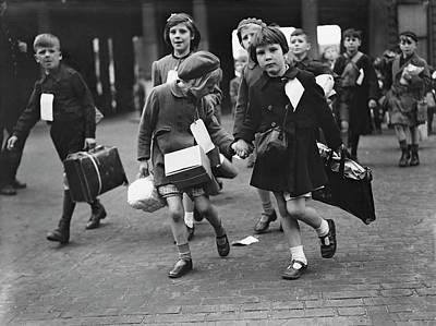 Child Photograph - World War II, 11th June 1944, London by Popperfoto