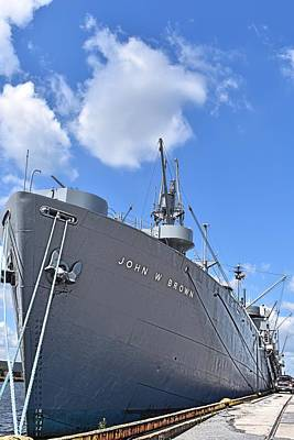 Kitchen Spices And Herbs - World War II Ship at Peace by Doug Swanson