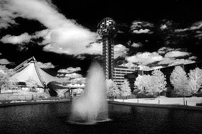 Photograph - Worlds Fair Park - Knoxville by Paul W Faust - Impressions of Light