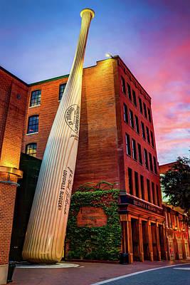 Photograph - World's Largest Baseball Bat - Louisville Kentucky by Gregory Ballos