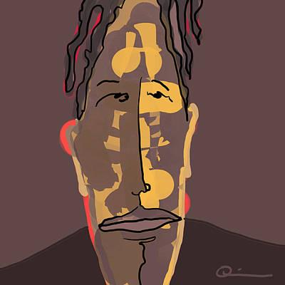 Digital Art - Worn by Jeff Quiros