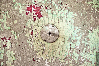 Photograph - Worn Walls Of Ohio State Reformatory - Old Mansfield Ohio Prison by Gregory Ballos