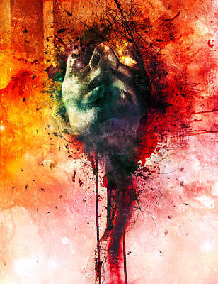 Surreal Digital Art - W.o.u.n.d.s by Mario Sanchez Nevado