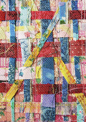 Tapestry - Textile - Woven Confetti by Pam Geisel