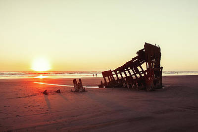 Photograph - Wreck Of The Peter Iredale by Todd Klassy