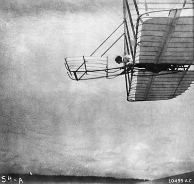 Photograph - Wrights In Air by Hulton Archive