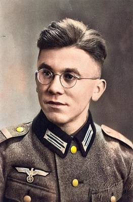Ps I Love You - WWII German Soldier 2 by Artistic Panda