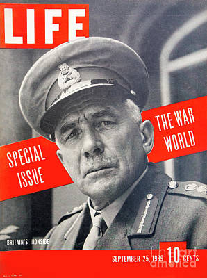 Photograph - Wwii Life Magazine Cover by Kevin McCarthy