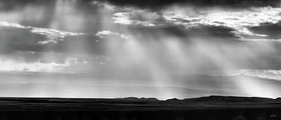 Photograph - Wyoming Cloud Light Panoramic by Leland D Howard