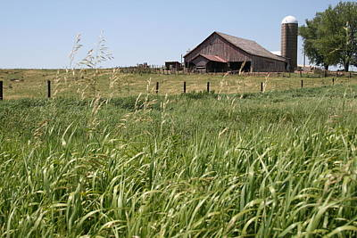 Photograph - Wyoming Farm by Dylan Punke