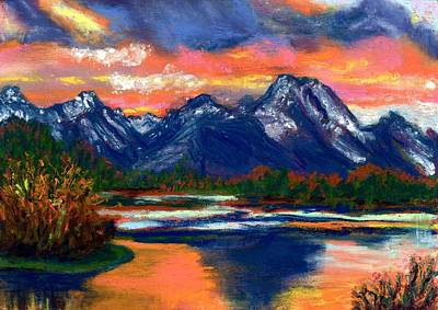 Painting - Wyoming by Laura Gabel