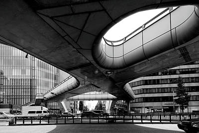 Photograph - X Type Footbridge by Kaneko Ryo
