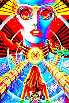Photograph - Xenon Arcade Pinball Machine Nostalgia 20181220 by Wingsdomain Art and Photography