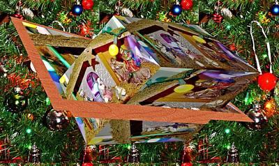 Pineapple - Xmas decoration and Xmas tree as art by Karl Rose