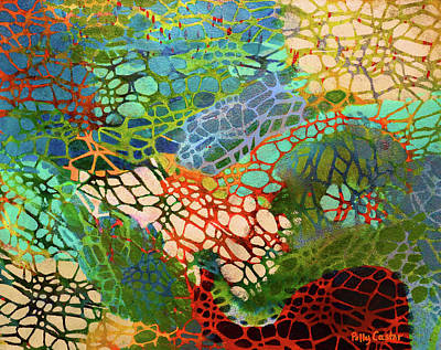 Painting - Xylem by Polly Castor