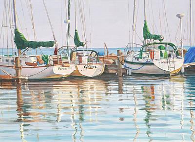 Painting - Yacht Club by Bruce Dumas