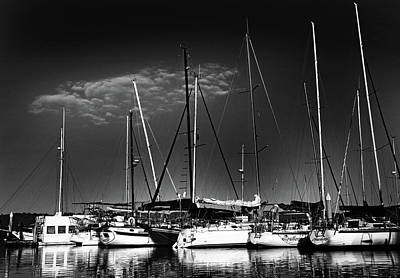 Photograph - Yachts by Images Unlimited