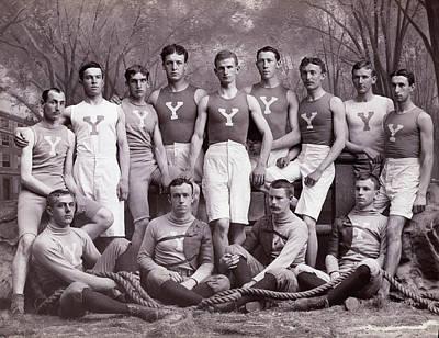 Photograph - Yale University Athletic Team by Bettmann