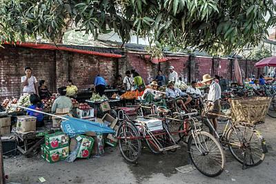 Photograph - Yangon Market by Ian Robert Knight