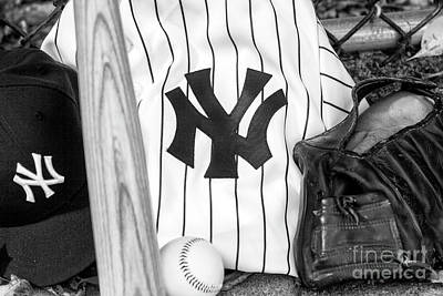 Photograph - Yankees October Dreams by John Rizzuto