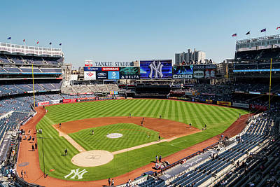 Photograph - Yankee Stadium by David Oakill
