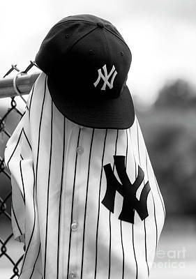Photograph - Yankees Legends Of The Fall by John Rizzuto