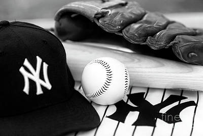 Photograph - Yankees Pastime Essentials by John Rizzuto