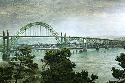 Photograph - Yaquina Bay Bridge by Tatiana Travelways