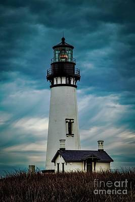 Photograph - Yaquina Head Lighthouse by Jon Burch Photography