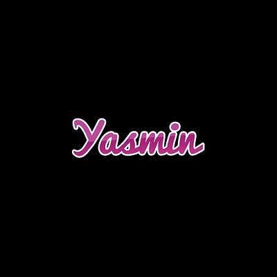 Digital Art - Yasmin #yasmin by Tinto Designs