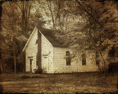 Photograph - Ye Old Church by Cathy Kovarik