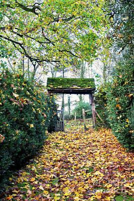 Photograph - Ye Olde Lychgate by Tim Gainey