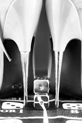 Photograph - Yeah Baby Monochrome by John Rizzuto