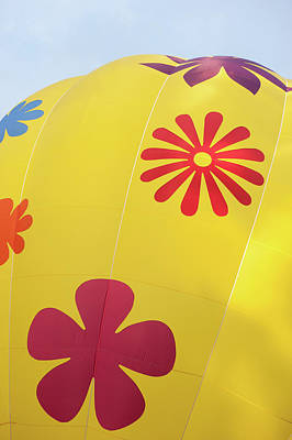 Photograph - Yellow Balloon Patterns I by Helen Northcott