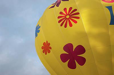 Photograph - Yellow Balloon Patterns II by Helen Northcott