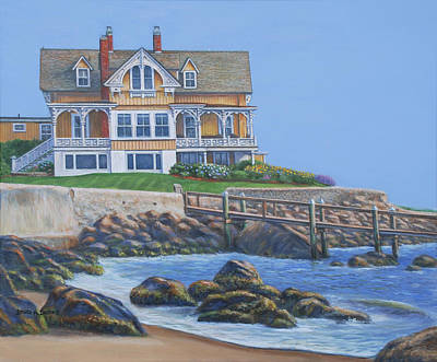 Painting - Watch Hill Cove by Bruce Dumas