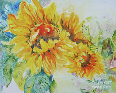 Painting - Yellow Beauty by Mary Haley-Rocks