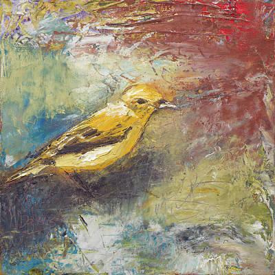 Painting - Yellow Bird by Nan Davis