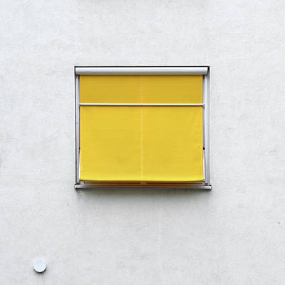Photograph - Yellow Blind by Stuart Allen