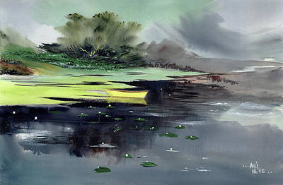 Painting - Yellow Boat by Anil Nene