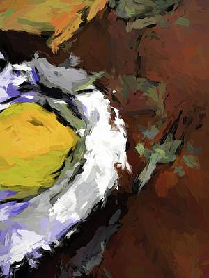 Painting - Yellow Lemon In The Bowl by Jackie VanO
